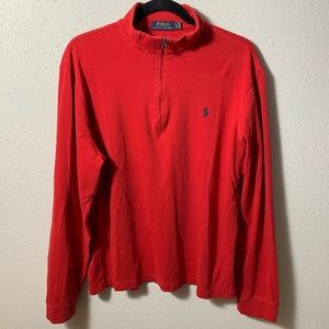 POLORALPHLAUREN Mens Large Red Pullover
